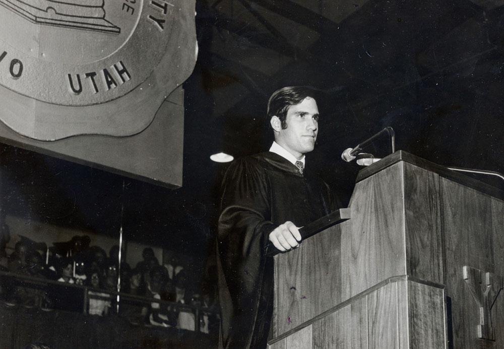 romney graduation